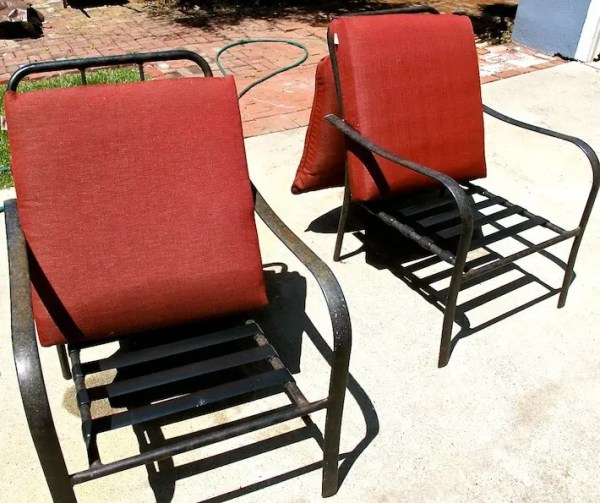 how to clean outdoor cushions patio furniture Springtime Patio Perk-Up Solutions : HomeJelly