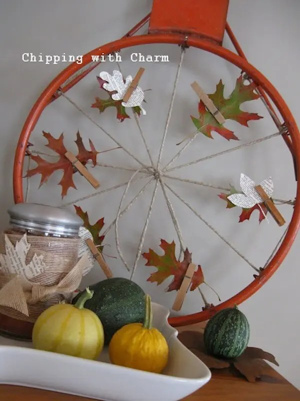 Repurposed Fall Decor Stuff We Discovered Today Homejelly