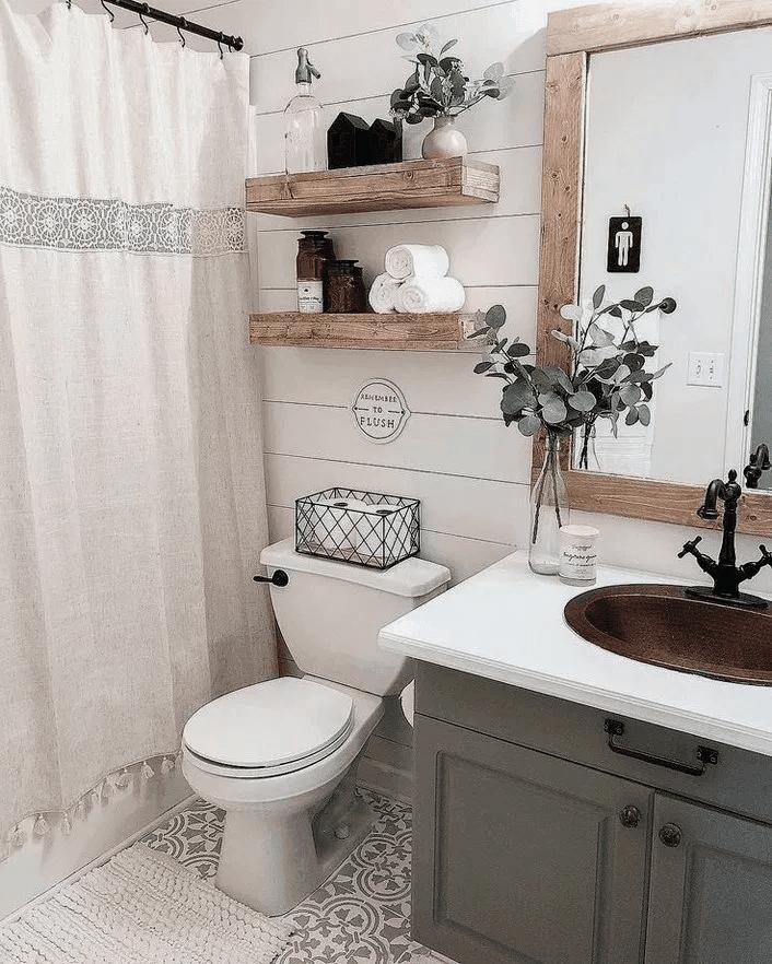 25 farmhouse bathroom ideas for your