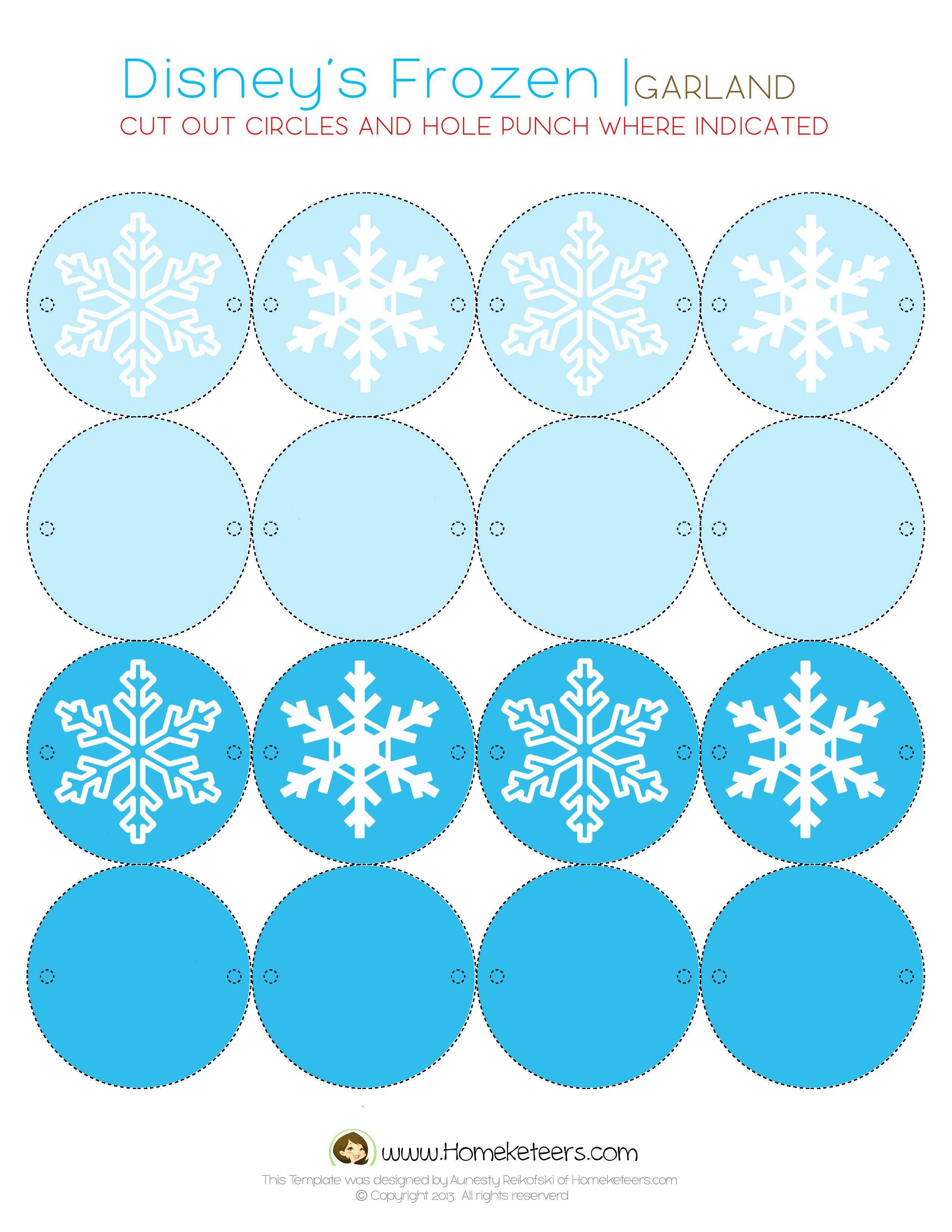 Free Printable Frozen Worksheets