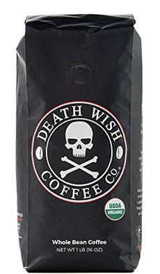 Death Wish Organic Ground Coffee