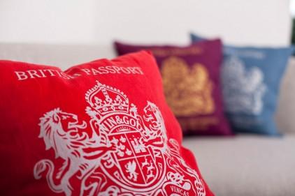 3 passport cushion by bouf Passport Cushion by Bouf
