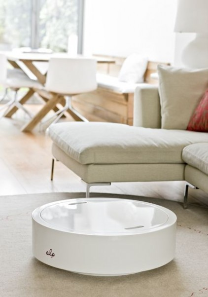 5 alp round coffee table by bouf Alp Round Coffee Table by Bouf