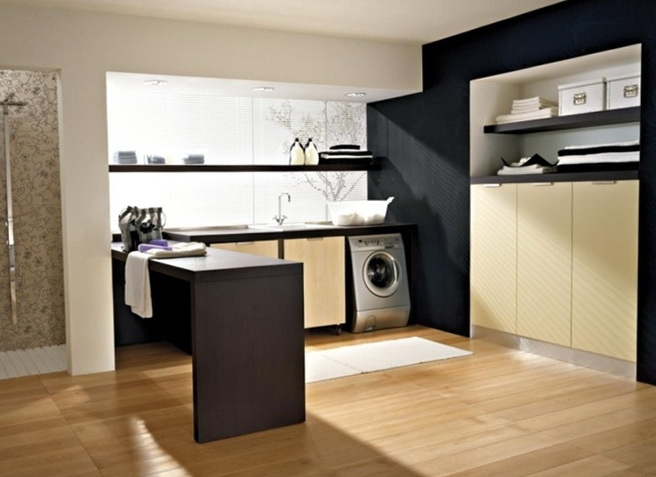10 Modern home laundry room | Home Interior Design ... on Amazing Laundry Rooms  id=82646