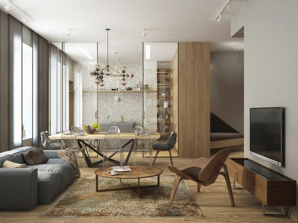 Cozy Minimalism Stylish Apartment For A Young Family