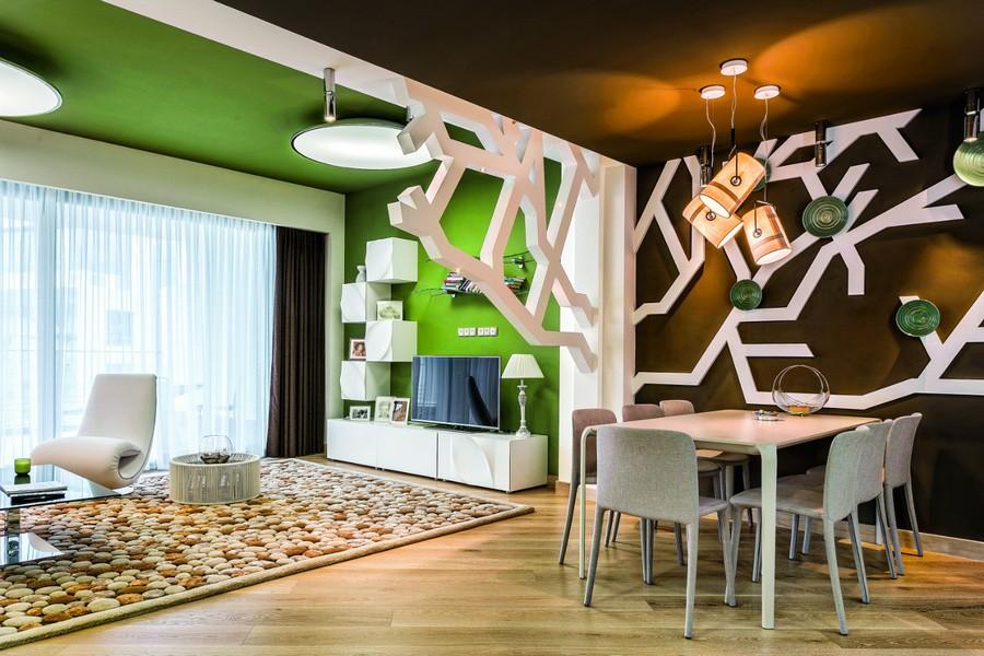 Big wall decor living room home decoration - Home decoration website photos ...