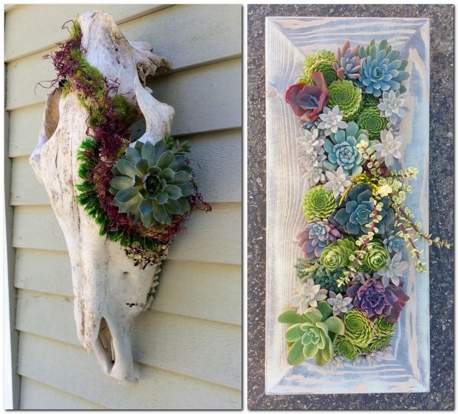 30 Garden Décor Ideas - Easy & More Comprehensive | Home ... on Creative Wall Decor  id=63420