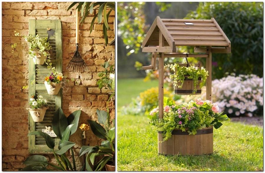 30 Garden Décor Ideas - Easy & More Comprehensive | Home ... on Backyard Wall Decor Ideas id=61182