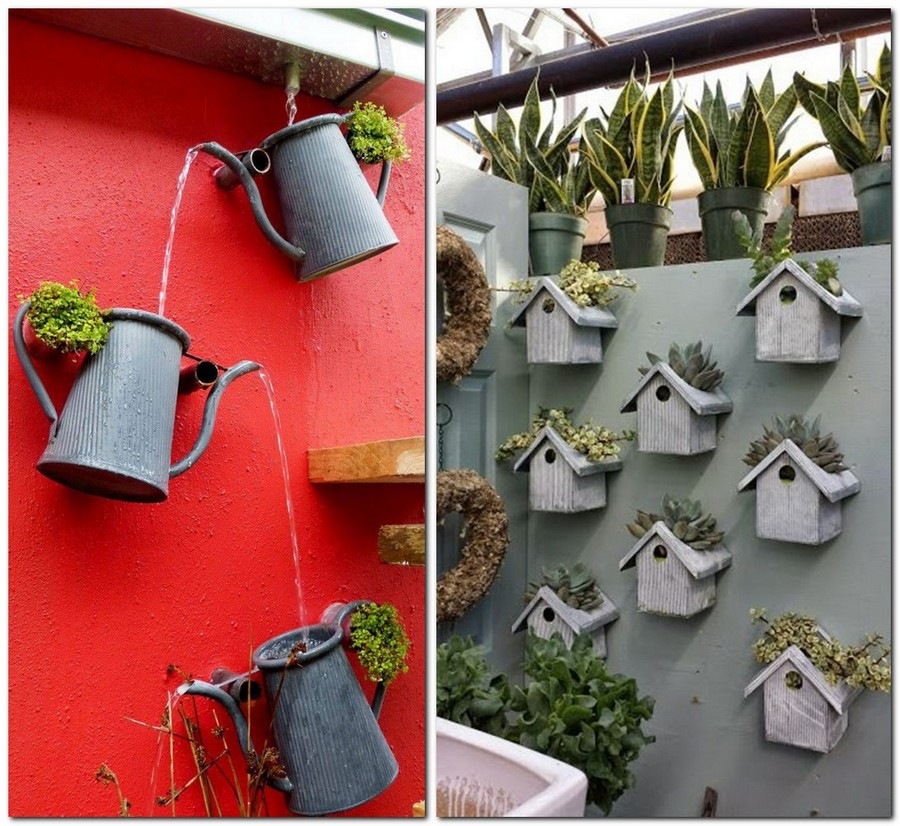 30 Garden Décor Ideas - Easy & More Comprehensive | Home ... on Backyard Wall Decor Ideas  id=30346