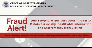 Homeland Security Warns of Phone Scam