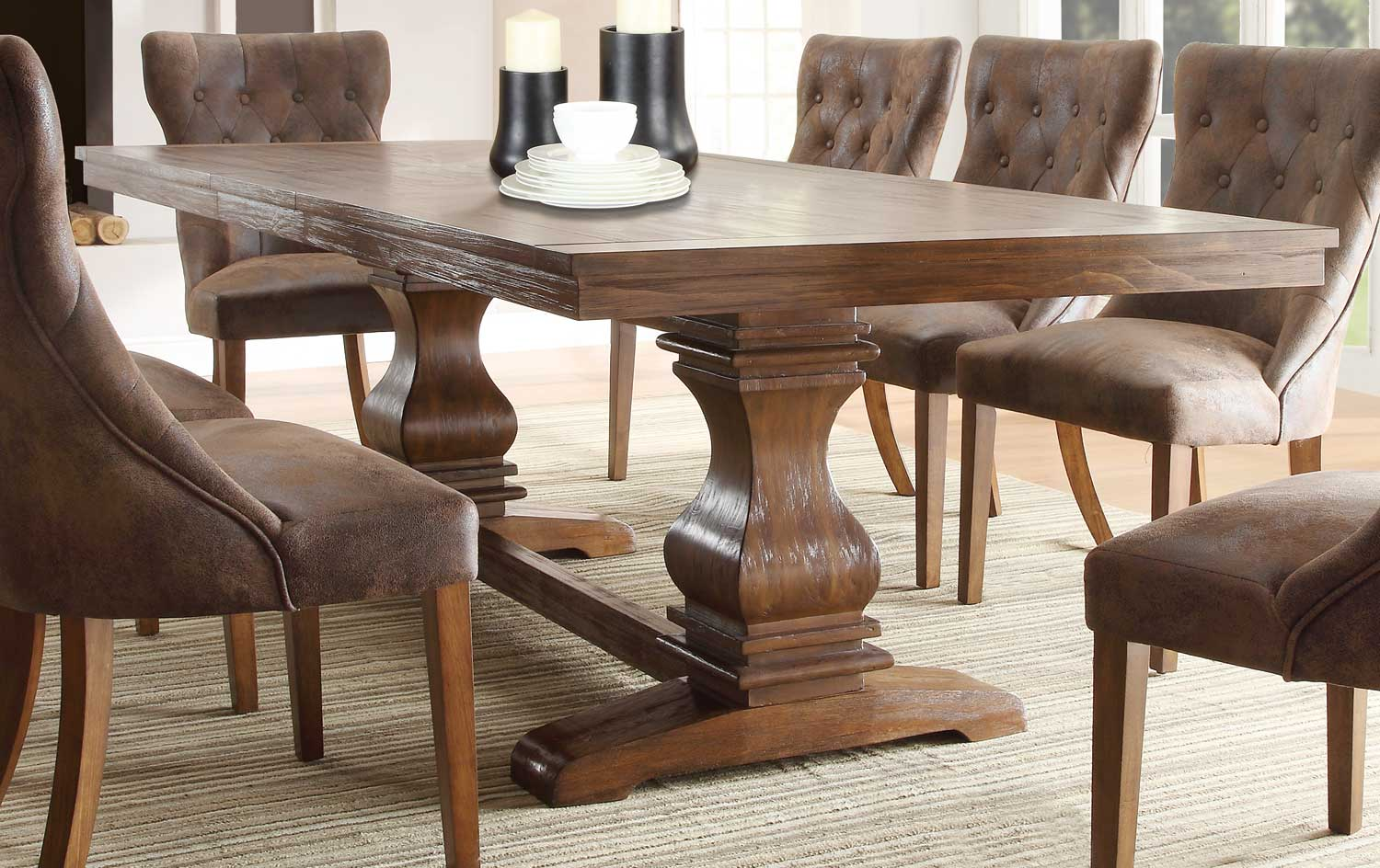 Homelegance Marie Louise Dining Table