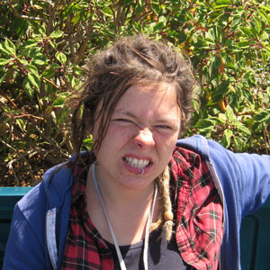 Mary, a trainee at the Homeless Garden Project