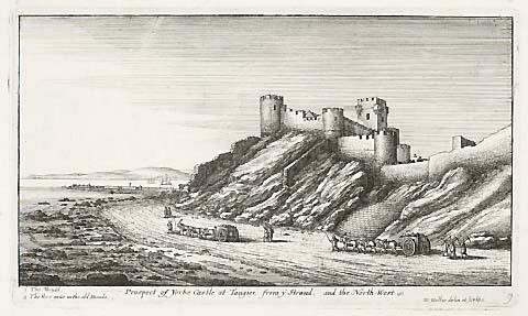 Castle and guns