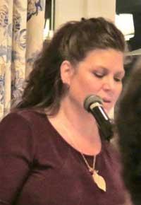 Andrea Ferguson Speaks at the Taste and Sea Fundraiser, September 2017