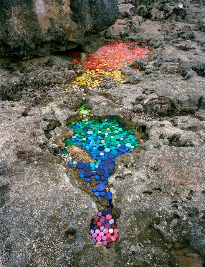PLASTIC WASTE ECO SCULPTURES