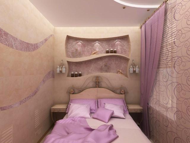 дизайн маленькой спальни 6 квм фото 7