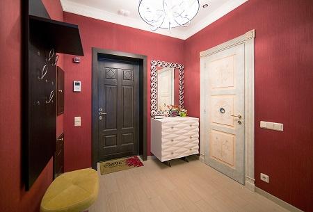 Дизайн и покраска прихожей: фото коридора, какой цвет стен ...