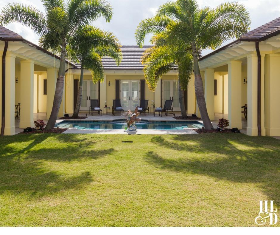 Courtyard Living, Orchid Island Homes, Vero Beach Courtyard Homes, Jill Shevlin Design, Vero Beach Interior Designer
