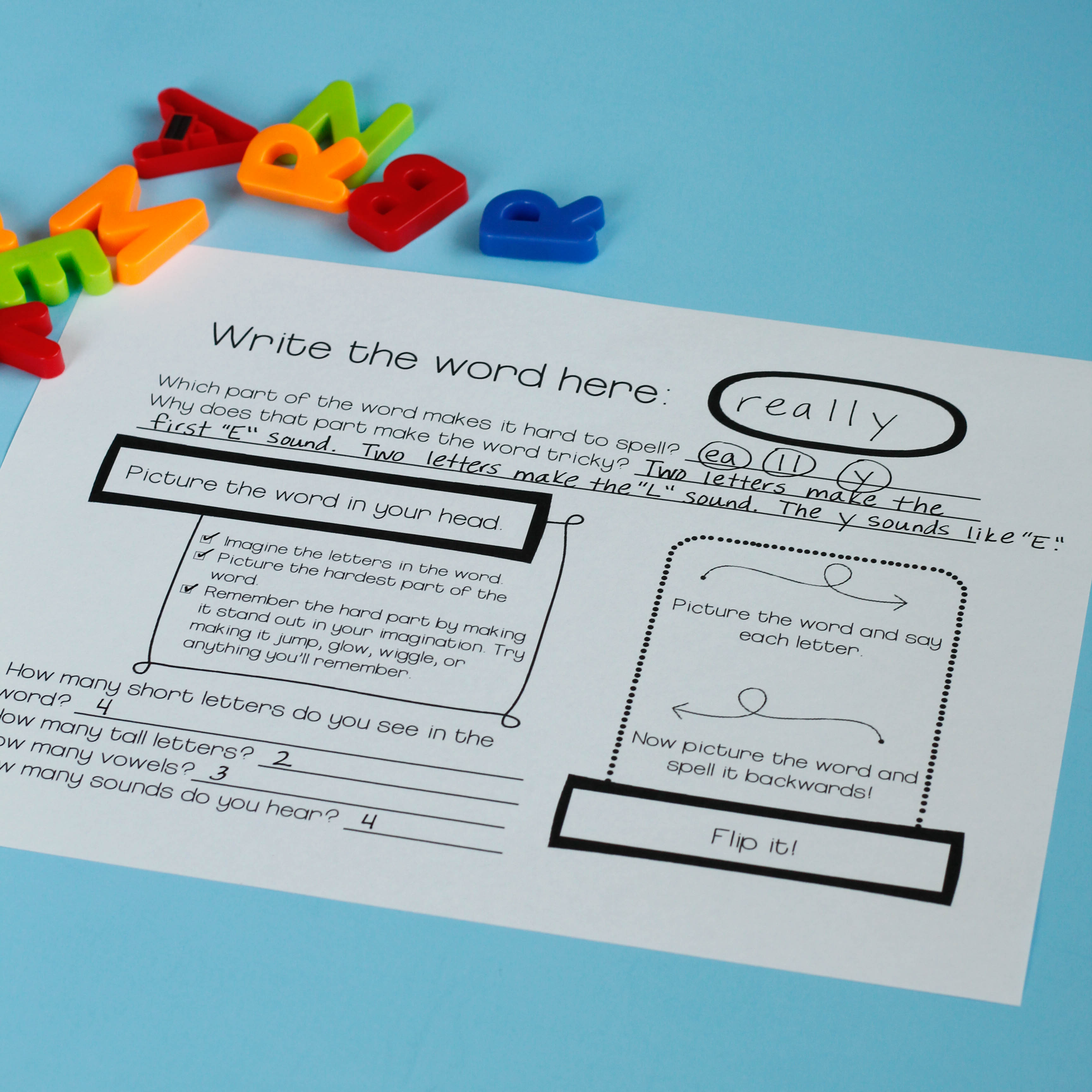 Smart Spelling Practice For Visual Learners
