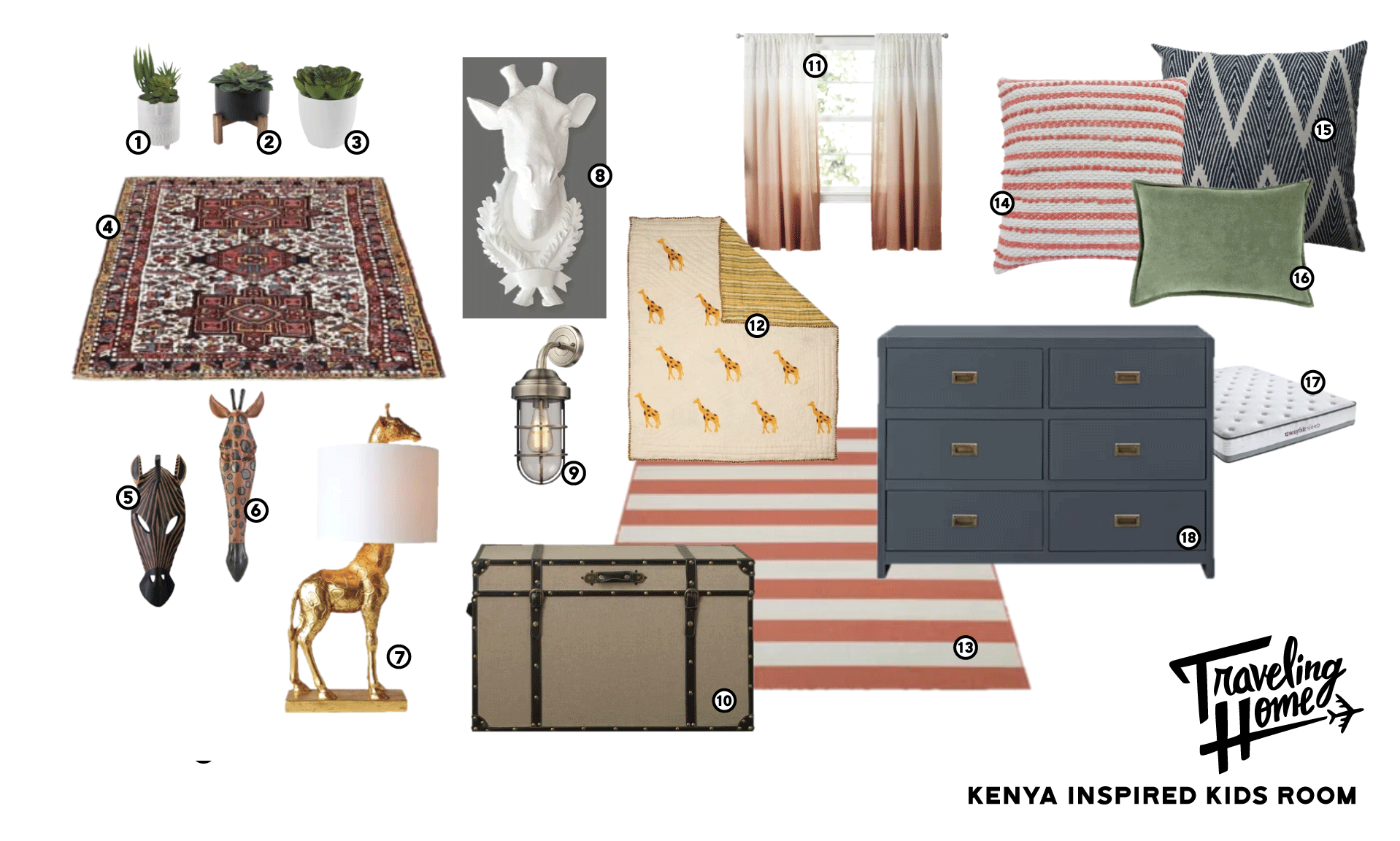 Shop Traveling Home Episode 4: Kenya Inspired Kids Room