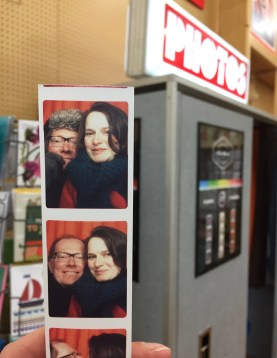 Photo booth, Fred Aldous