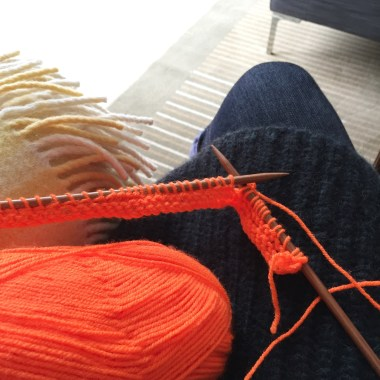 Knitting on the go