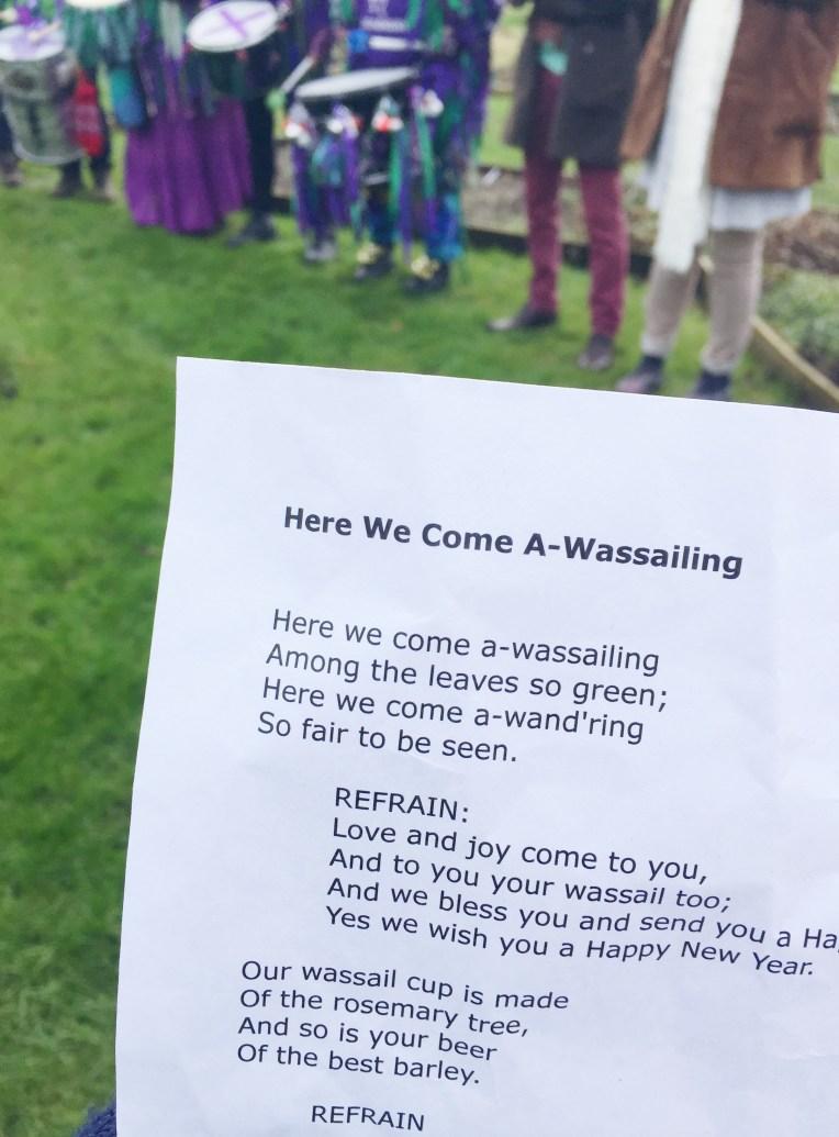 Wassailing Song