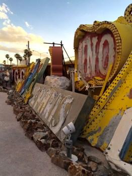 Sunset tour of the Neon Boneyard Neon Museum Las Vegas,
