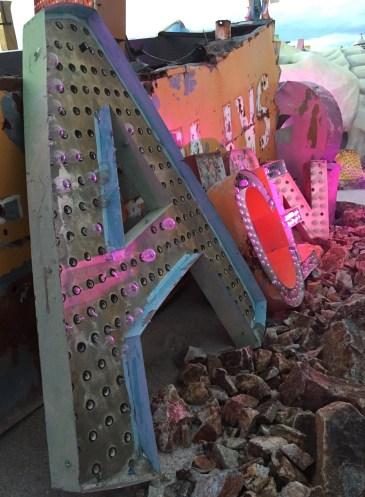 ACE sign at the Neon Bone Yard, Neon Museum, Las Vegas