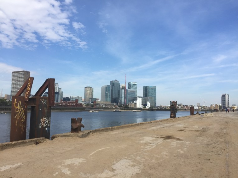 Canary Wharf and the London Docklands