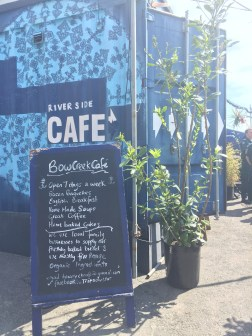 Bow Creek Cafe at Trinity Bouy Wharf