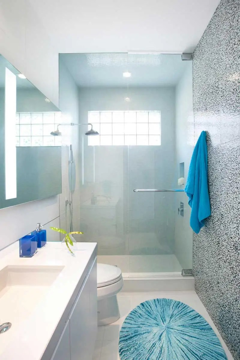 50 Modern Small Bathroom Design Ideas Homeluf Clean Lines Tiles