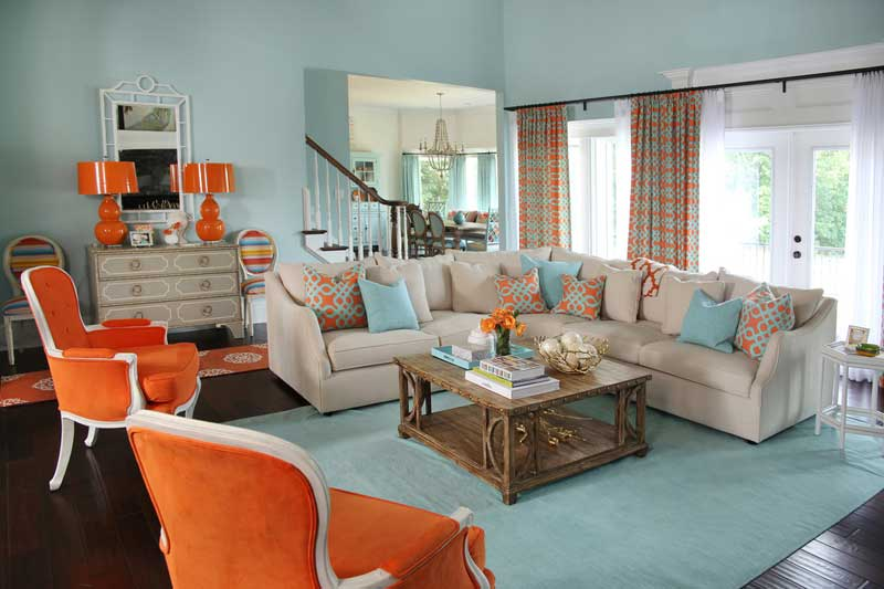 Coastal Living Room Design