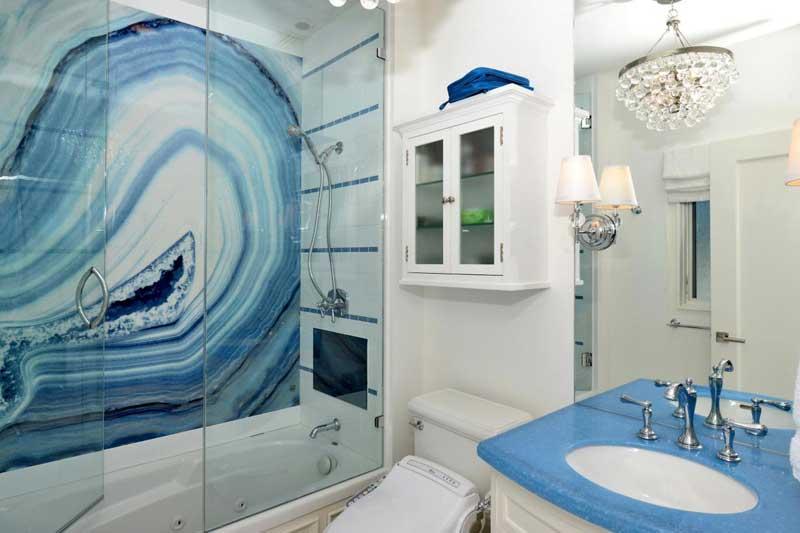 Coastal Small Bathroom
