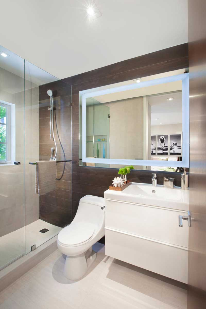 50 Modern Small Bathroom Design Ideas - Homeluf.com on Modern Small Bathroom  id=53698