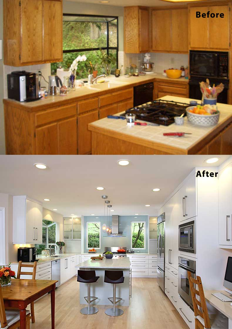 Kitchen remodel ideas before and after 24