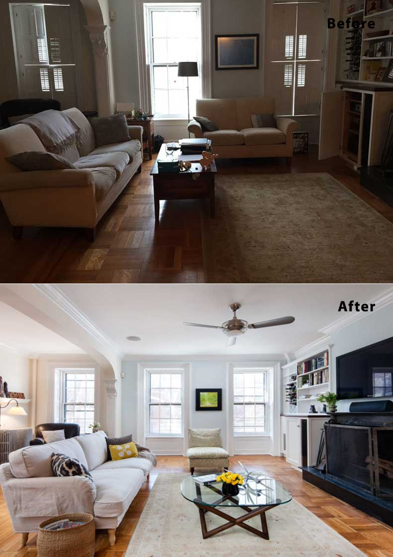 Living Room Remodels Before and After 08