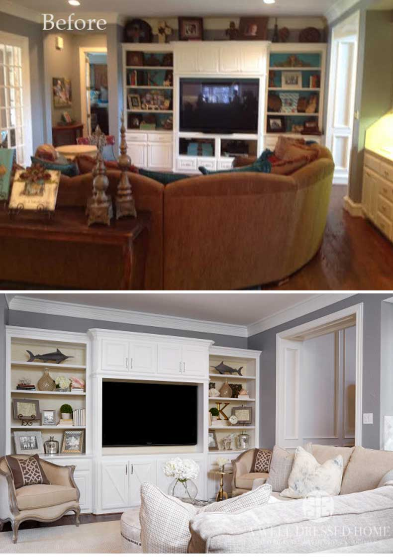 Living Room Remodels Before and After 12