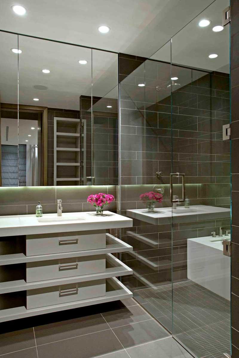 50 Modern Small Bathroom Design Ideas - Homeluf.com on Modern Small Bathroom Design  id=70904