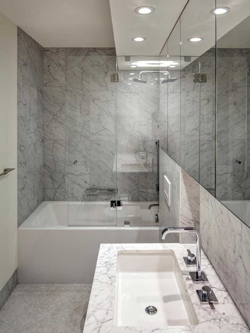 50 Modern Small Bathroom Design Ideas - Homeluf.com on Modern Small Bathroom  id=92690