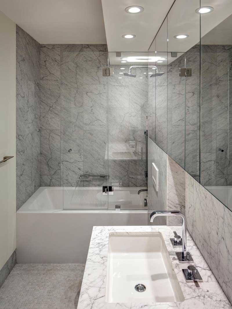 50 Modern Small Bathroom Design Ideas - HOMELUF on Bathroom Ideas Modern Small  id=52744