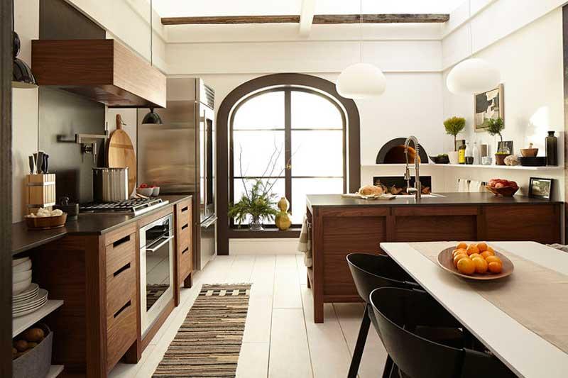 Modern scandinavian kitchen design