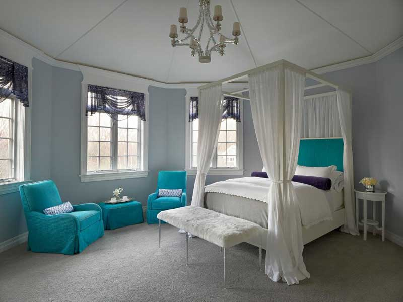 Teenage Girl Bedroom With Dreamy Canopy Bed