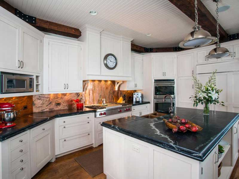 43 Kitchen Countertops Design Ideas (Granite, Marble, Quartz And