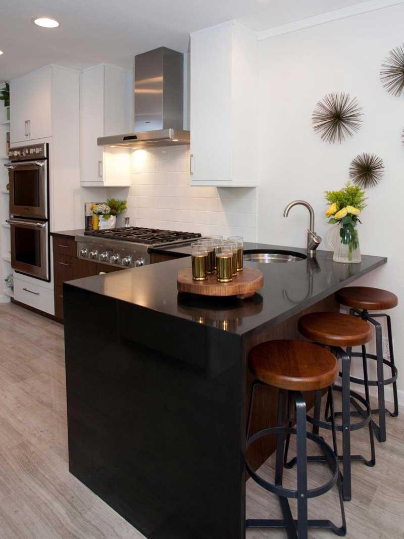 43 Kitchen Countertops Design Ideas -Homeluf.com on Black Countertops  id=86444