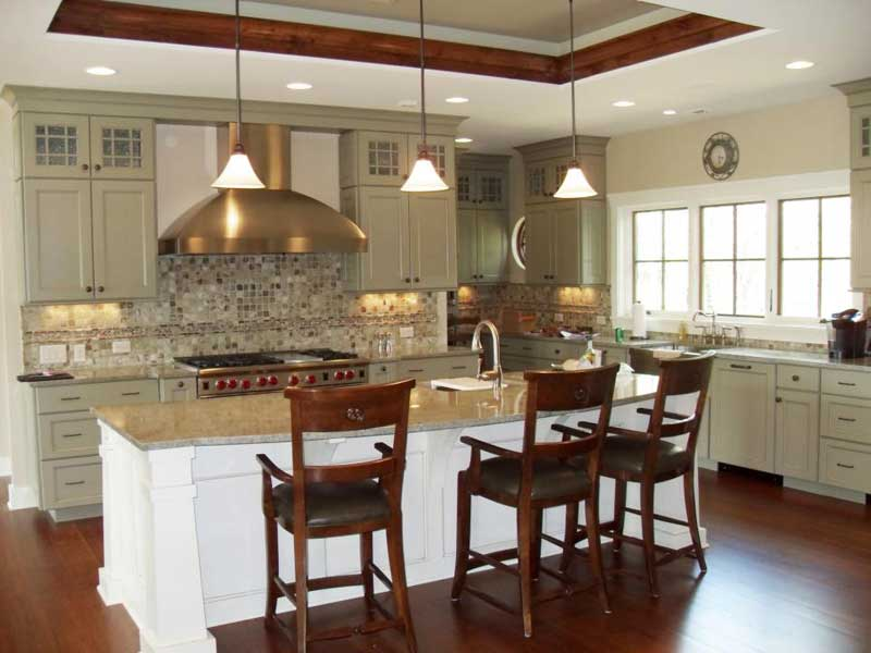 Extra-Long Kitchen Island