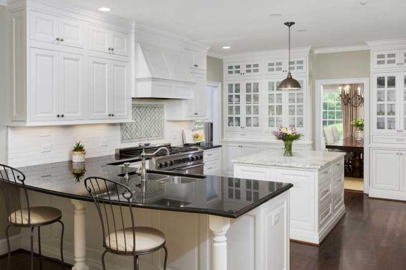 43 Kitchen Countertops Design Ideas -Homeluf.com on Black Countertops  id=94691
