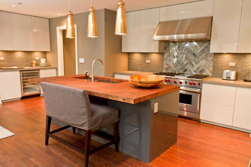 Kitchen Island With Butcher Block Countertop