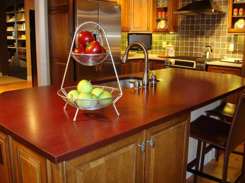 Recycled Paper Kitchen Countertop