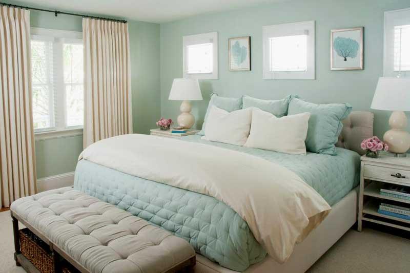 Seafoam Green Bedroom Color Schemes